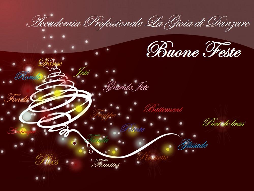 Auguri Professionali Di Natale.Auguri La Gioia Di Danzare