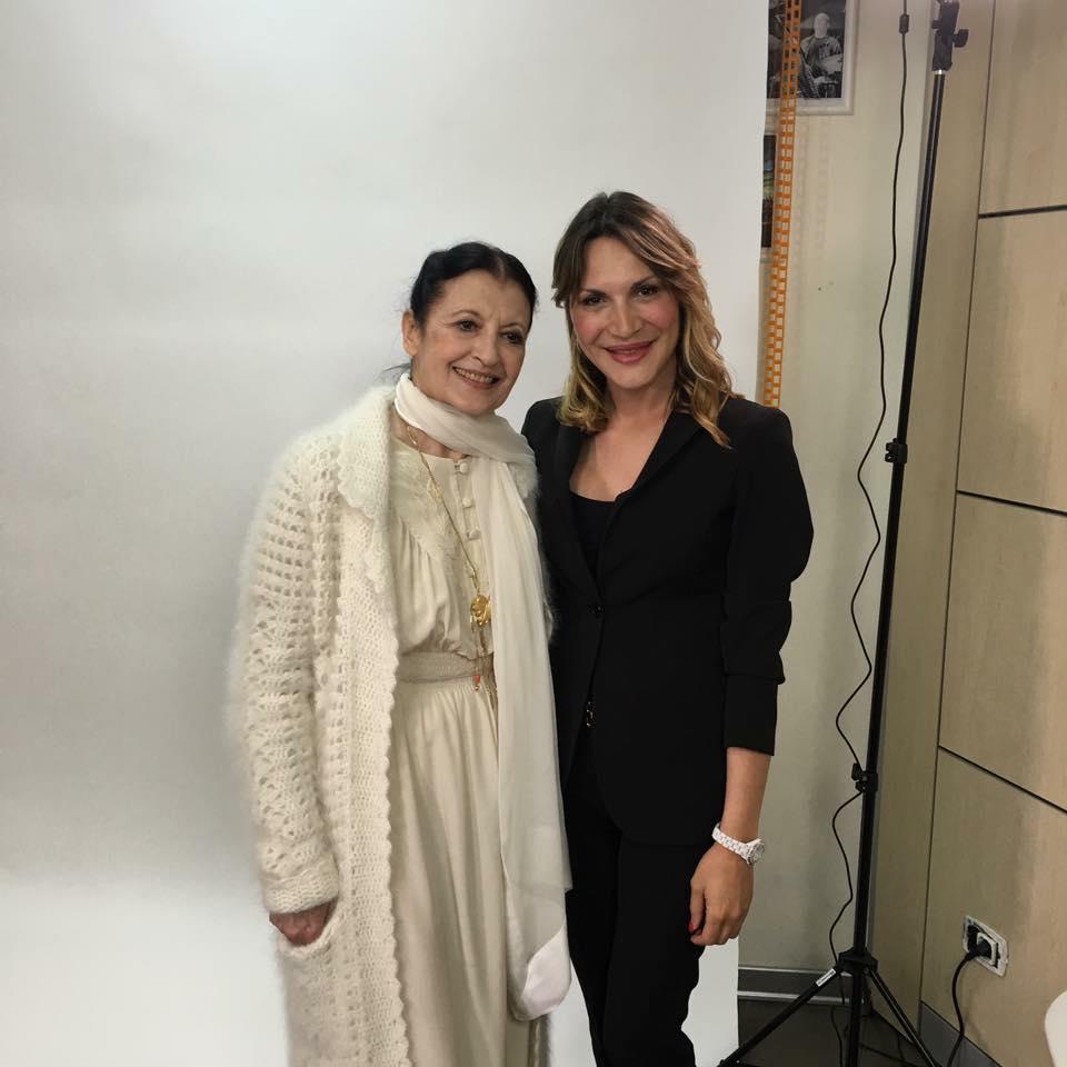 Carla Fracci e Sara Zuccari 2