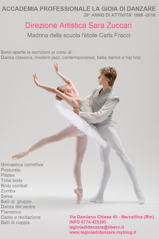 Manifesto scuola di danza
